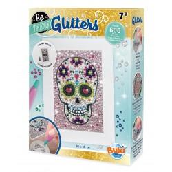 Glitters - Tête de mort mexicaine