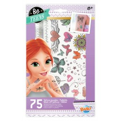 75 Tattoos lavables - Paillettes