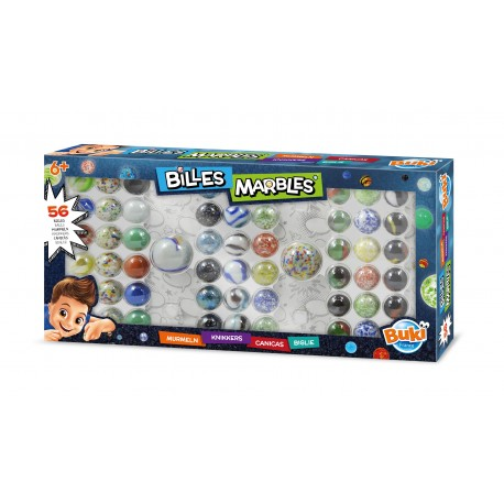 Small box of marbles