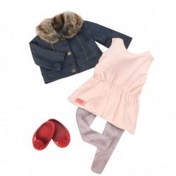 Tenue classique - Tunique et veste jean