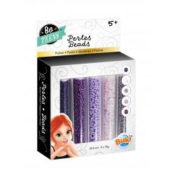 Bead tubes purple
