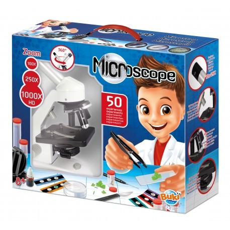 50 experiment microscope